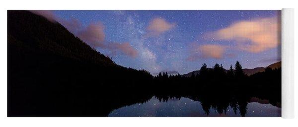 Milky Way At Snoqualmie Pass Yoga Mat