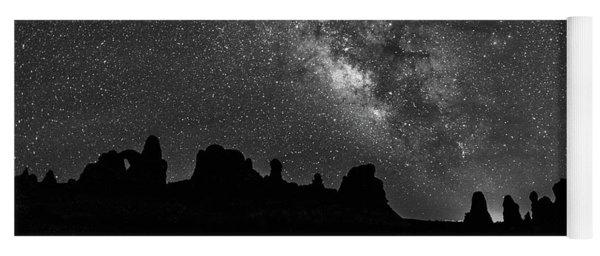 Milky Way At The Windows Yoga Mat