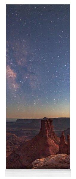 Milky Way At Twilight - Marlboro Point Yoga Mat