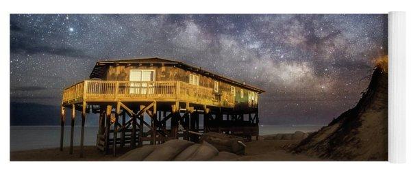 Milky Way Beach House Yoga Mat