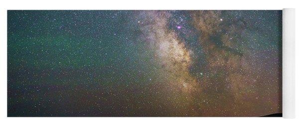Milky Way Eagle Lake Yoga Mat