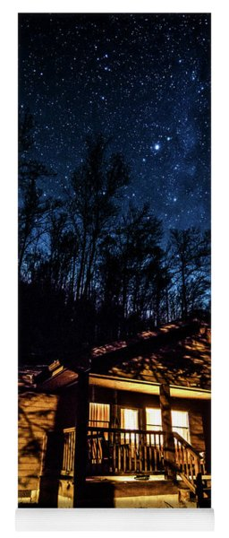 Milky Way Over Holly River State Park Yoga Mat