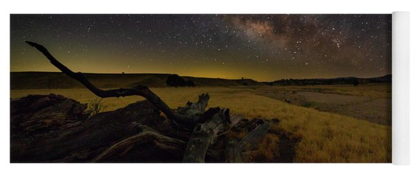 Milky Way Over The Canyon  Ranch Yoga Mat