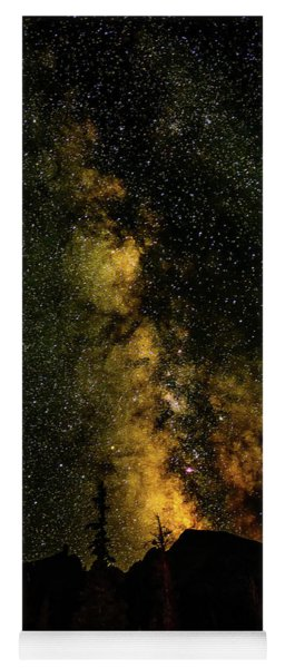Milky Way Over Wheeler Peak Yoga Mat