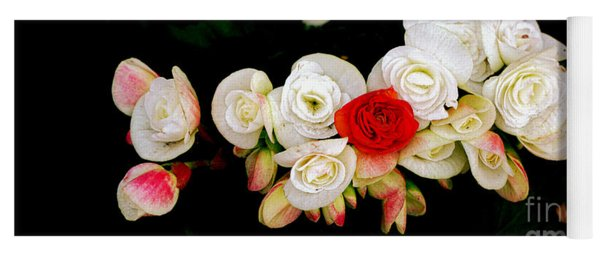 Miniature Roses Yoga Mat