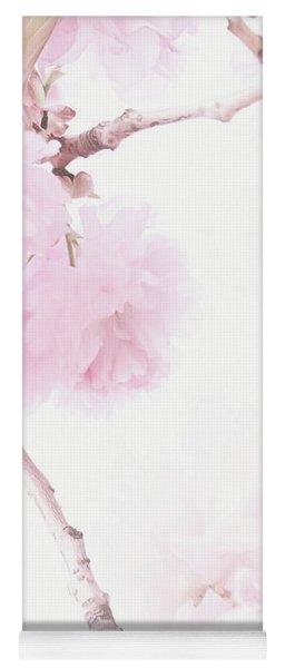Minimalist Cherry Blossoms Yoga Mat