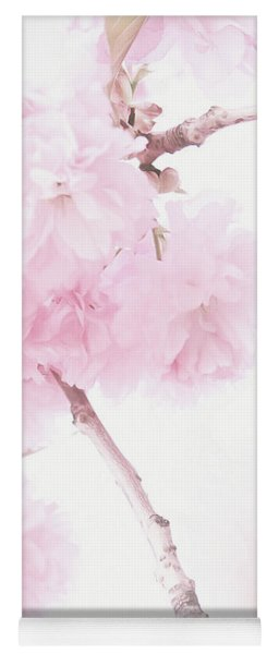 Minimalist Cherry Blossoms Yoga Mat