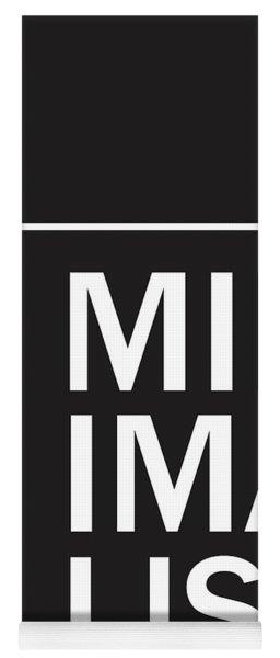 Minimalist Poster Yoga Mat