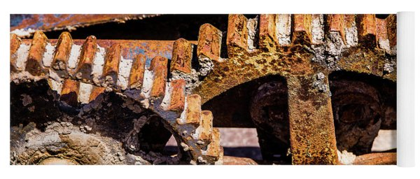 Mining Gears Yoga Mat