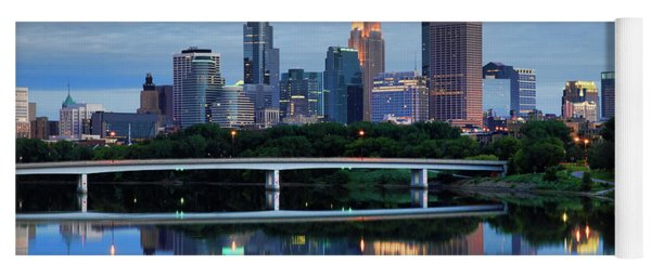 Minneapolis Reflections Yoga Mat