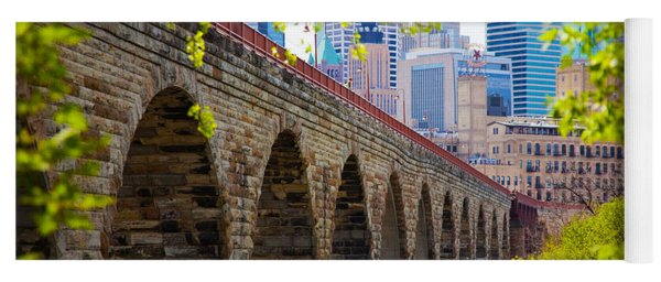 Minneapolis Stone Arch Bridge Photography Seminar Yoga Mat