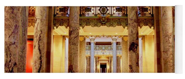 Minnesota Capitol Supreme Court Yoga Mat