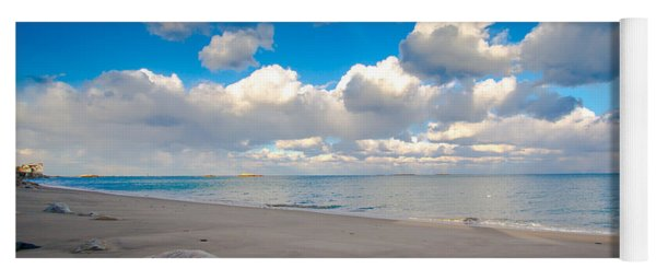 Minot Beach In Scituate Massachusetts  Yoga Mat