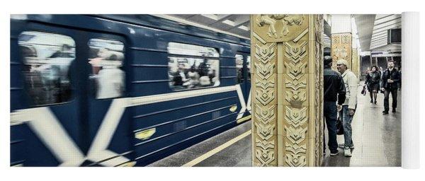 Minsk Metro Yoga Mat