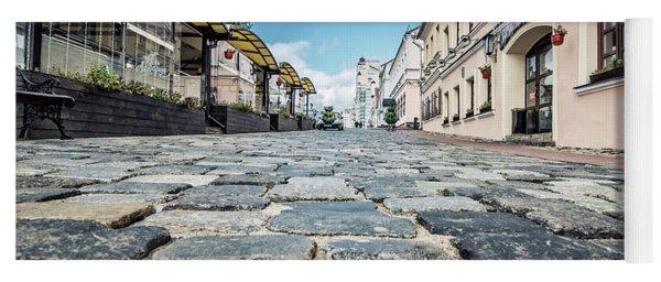 Minsk Old Town Yoga Mat