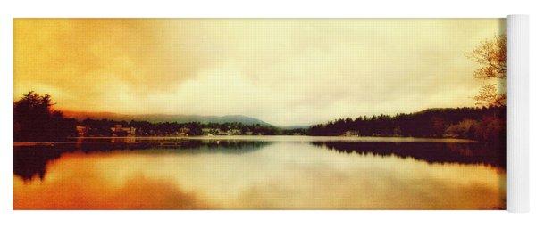 Mirror Lake At Sunset Yoga Mat