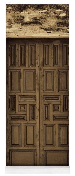 Mission Concepcion Door #2 Yoga Mat