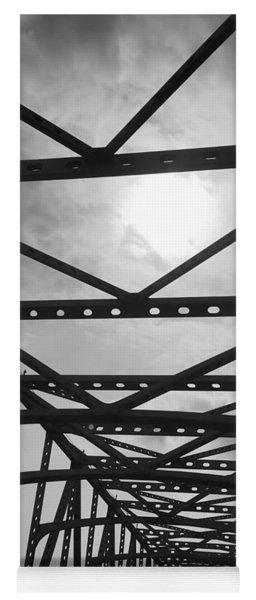 Mississippi River Bridge Yoga Mat