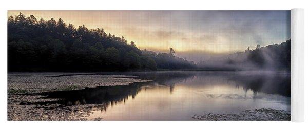 Bass Lake Sunrise - Blue Ridge Parkway Yoga Mat