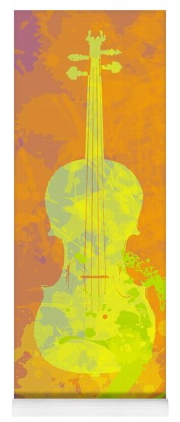 Mist Violin Yoga Mat