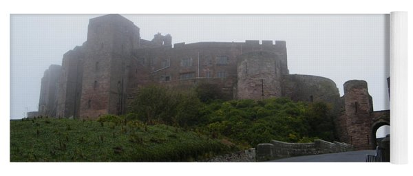 Misty Bamburgh Castle Yoga Mat