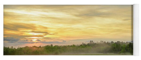 Misty Evening Yoga Mat