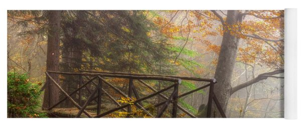 Misty Forest Yoga Mat