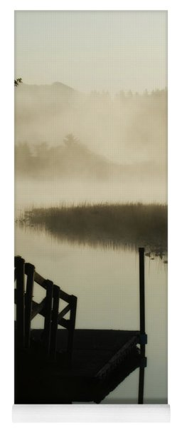 Misty Oregon Morning Yoga Mat