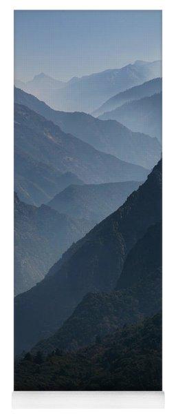 Misty Peaks Yoga Mat