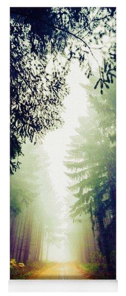 Misty Road Yoga Mat