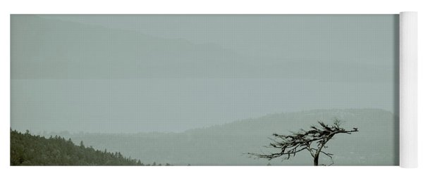 Misty View Yoga Mat