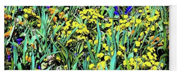 Mixed Flower Garden 515 Yoga Mat