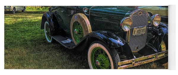 1928 Model A Ford  Yoga Mat