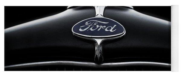 Model A Ford Yoga Mat