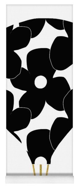 Modern Floral Hot Air Balloon- Art By Linda Woods Yoga Mat