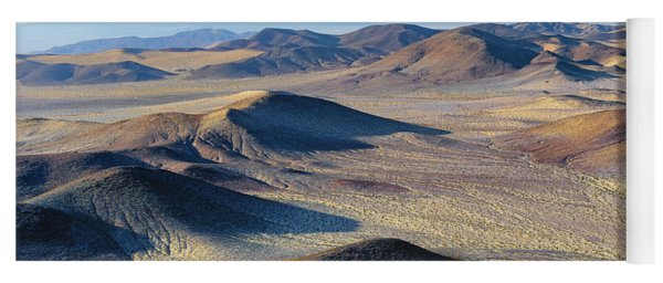 Yoga Mat featuring the photograph Mojave Desert by Jim Thompson