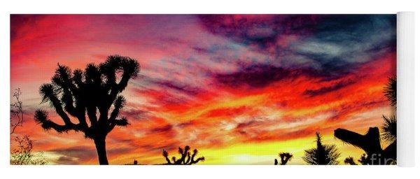 Mojave Sunset Yoga Mat