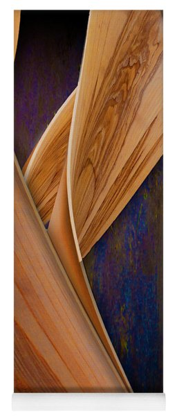 Yoga Mat featuring the photograph Molten Wood by Paul Wear