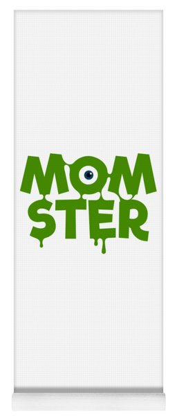 Momster Halloween Funny Monster For Mom And Women Humor Halloween Easy Costume Office Parties Yoga Mat