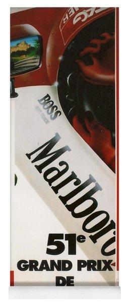 Monaco F1 1993 Yoga Mat