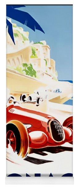 Monaco Grand Prix 1937 Yoga Mat