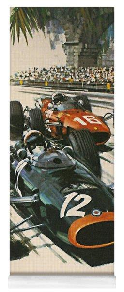 Monaco Grand Prix 1967 Yoga Mat