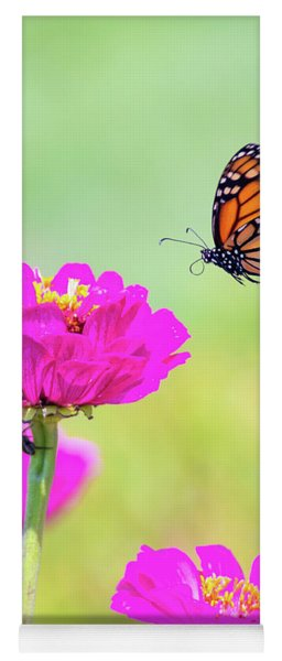 Monarch In Flight 1 Yoga Mat