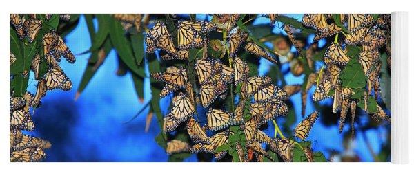 Monarchs Yoga Mat