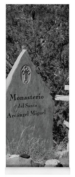 Monasterio Del Santo Arcangel Miguel Yoga Mat