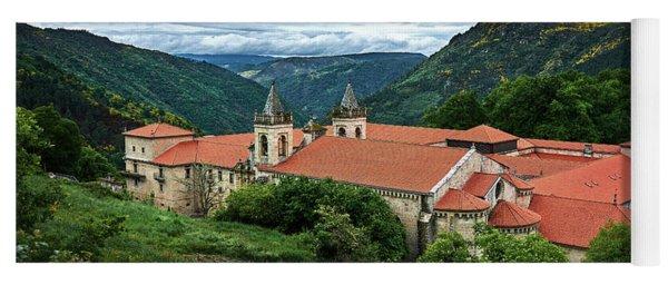 Monastery Of Santo Estevo De Ribas Del Sil Yoga Mat