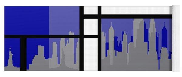 Mondrian In N Y Yoga Mat