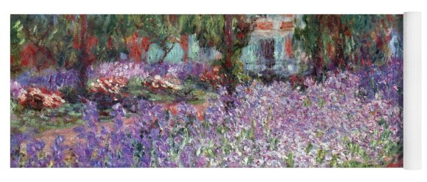 Yoga Mat featuring the photograph Monet: Giverny, 1900 by Granger