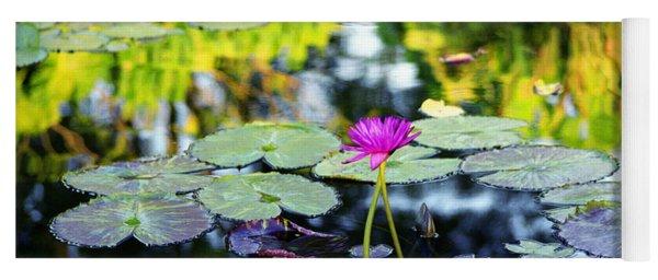 Monet Lilies Yoga Mat