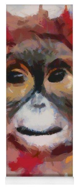Monkey Splat Yoga Mat